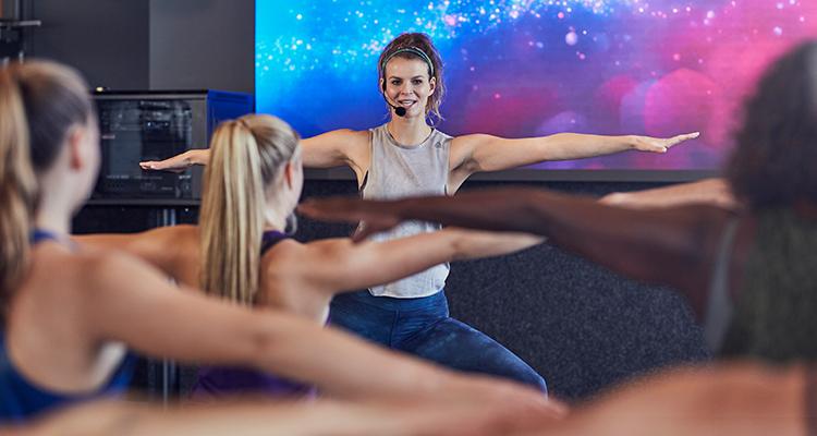 Dating een vrouwelijke Fitness instructeur