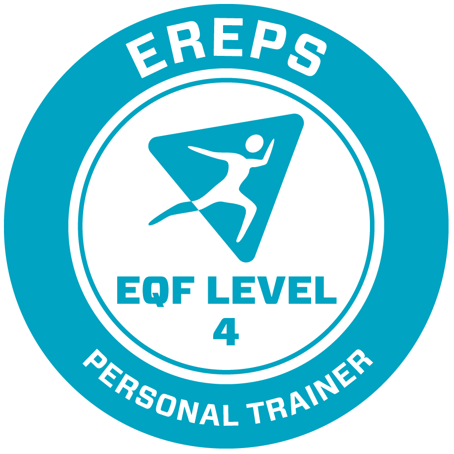 Certification logo showing EQF level